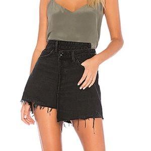 AGOLDE Criss Cross Skirt